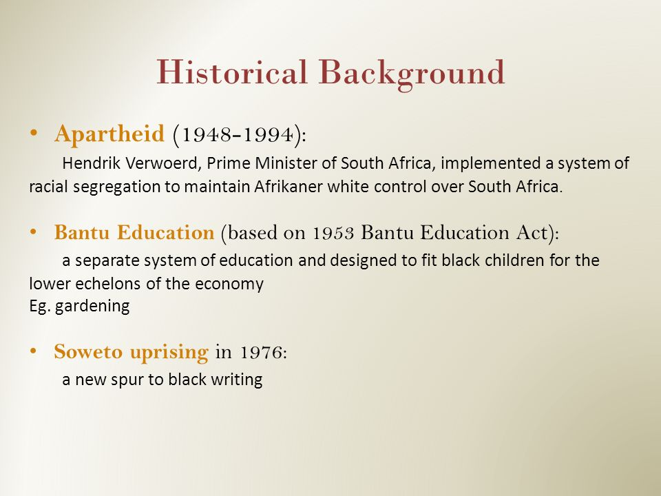 "The ""Bantu Education"" System: A Bibliographic Essay ..."