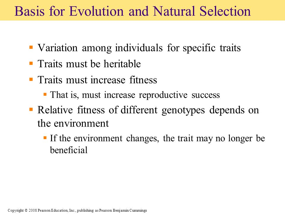 Why Is Heritable Variation Necessary For Natural Selection