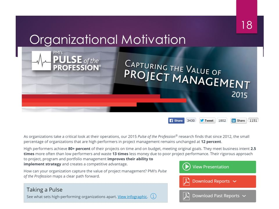 project motivation organizational business Motivating an organization  the management of motivation is therefore a critical element of success in any business  motivation in the workplace is.