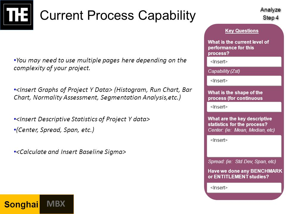 Confidential mbx template book confidential ppt for Process capability study template