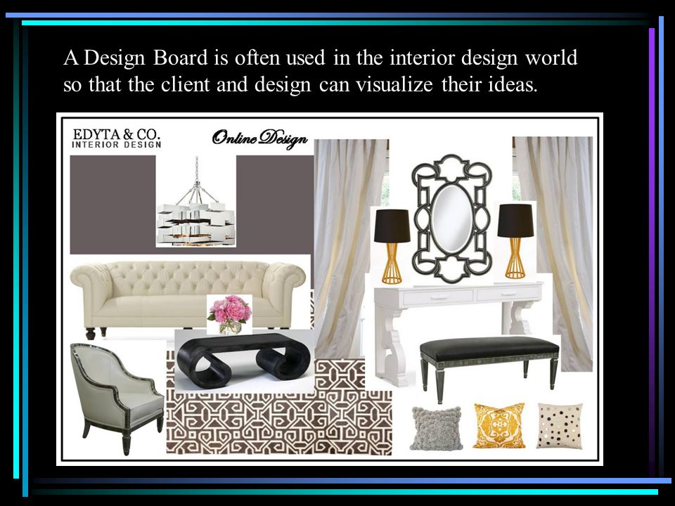 Interior Design Project For Graphic Design