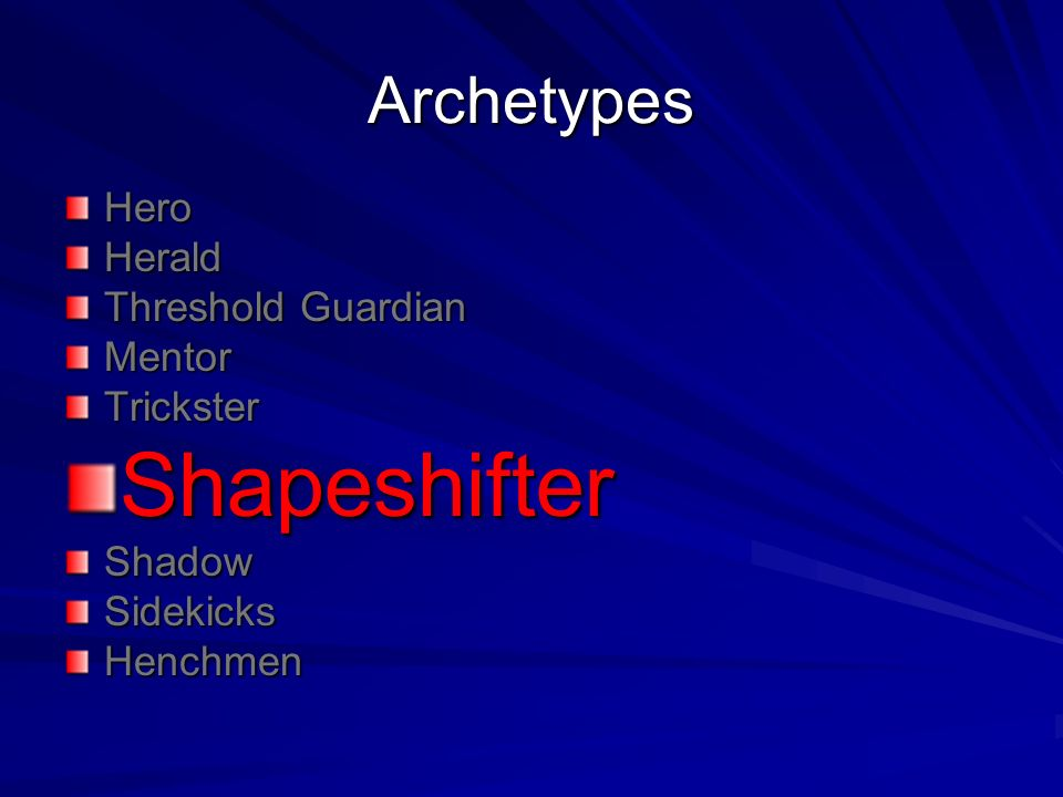 mentor archetype Carl jung first applied the term archetype to literature he recognized  the term  archetype can be applied to:  the hero has a strange, wise being as a mentor.