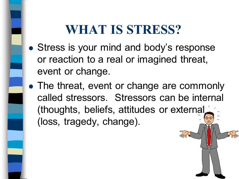 Teen Stress and Stress Management.