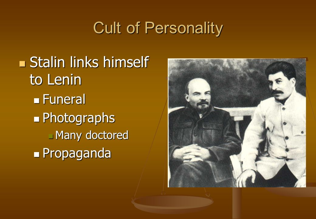 stalin cult of personality essay These reasons include purges, secret police, stalins economic policies and propaganda and cult of the personality.