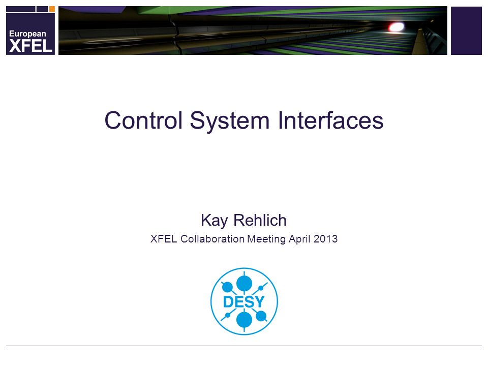 Control System Interfaces