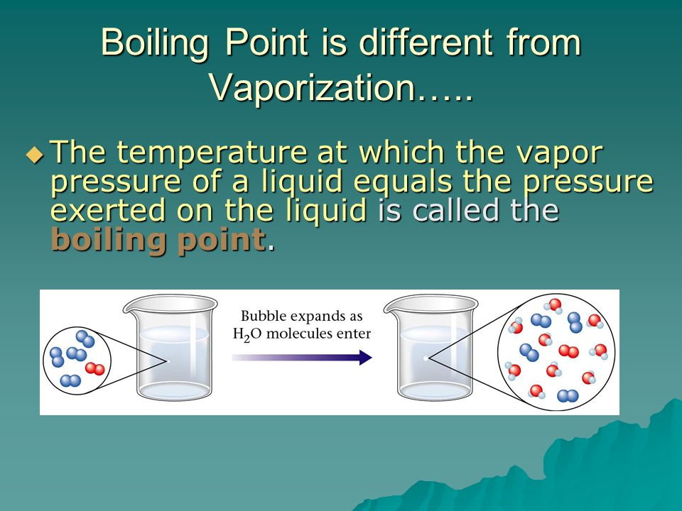 how to find boiling point at different pressure