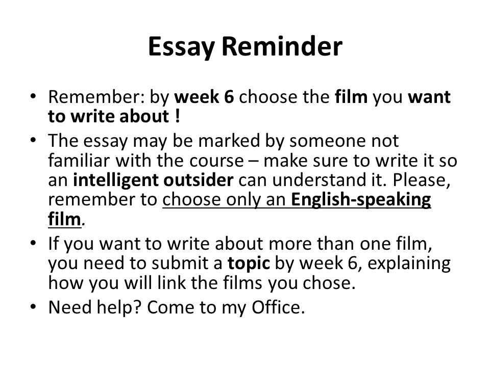 """creating a film essay Writing a persuasive essay is like being a lawyer arguing a case before a jury the writer takes a stand on an issue—either """"for"""" or """"against""""—and builds."""