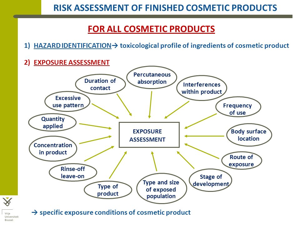 Of Cosmetic Products In The Eu - Ppt Video Online Download