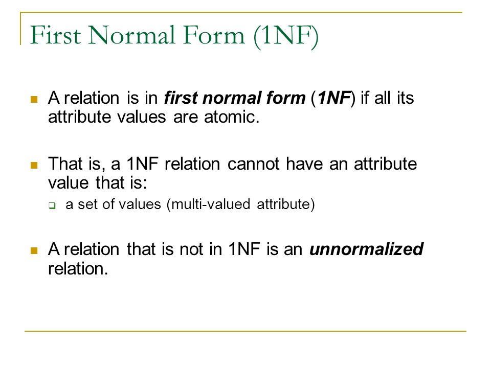 Normalization. - ppt video online download