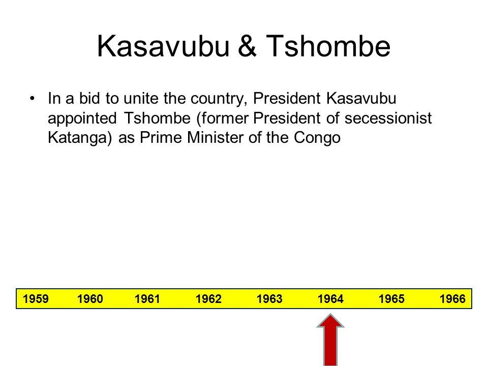 Kasavubu & Tshombe