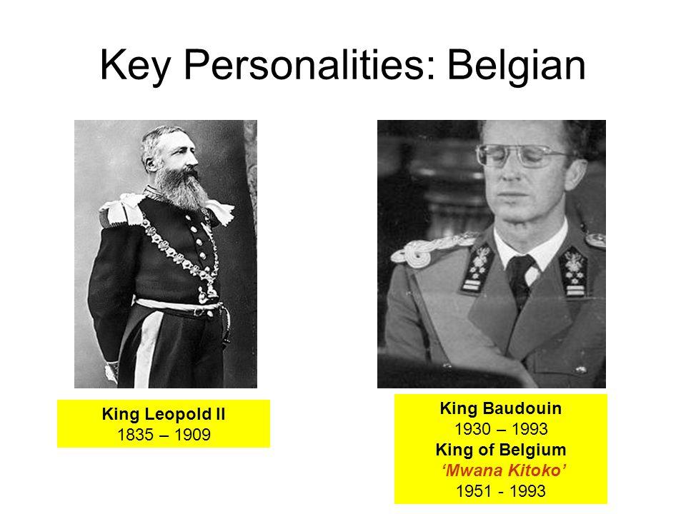 Key Personalities: Belgian