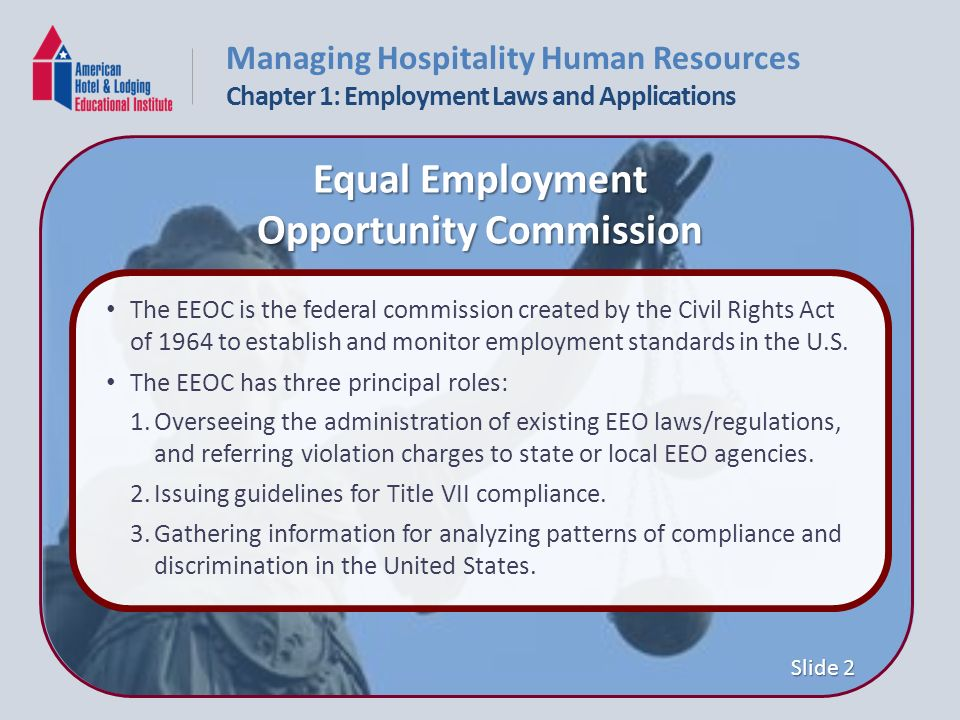 an analysis of the equal employment opportunity commission and the affirmative action in the united  The civil rights act of 1964 and the equal employment opportunity commission  the term affirmative action in their own words  equal employment opportunity .