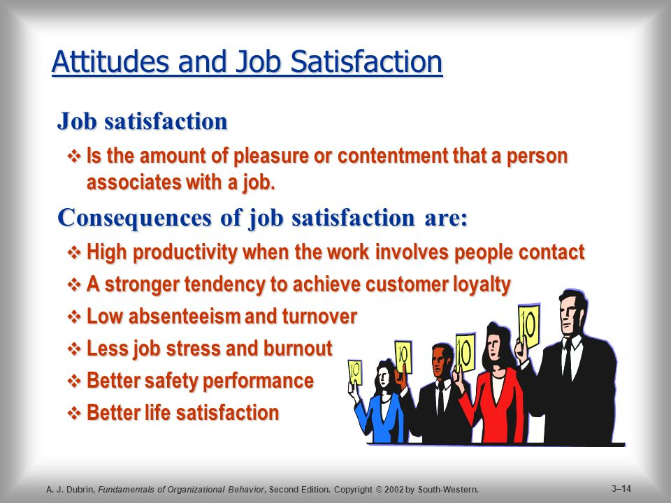 employee attitudes and job satisfaction