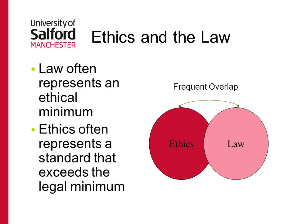 business law moral minimum Many unfair and wrong business practices are not anticipated and therefore not   in a sense morality is complete and applies to all acts, but the law typically is   there seems to be some relationship between law and morality, or at least it.