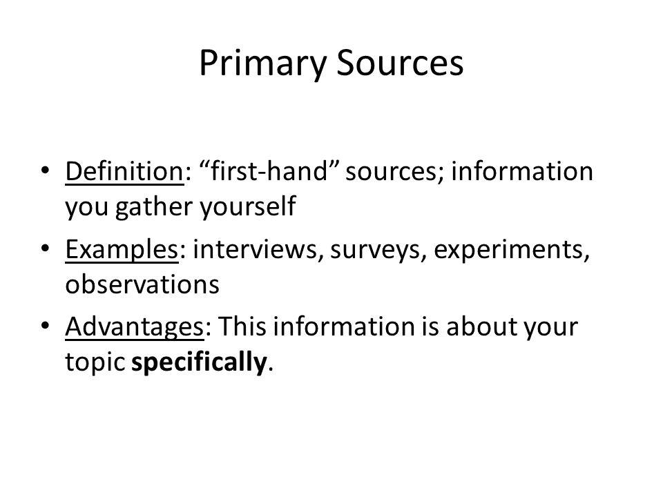 informational interview definition