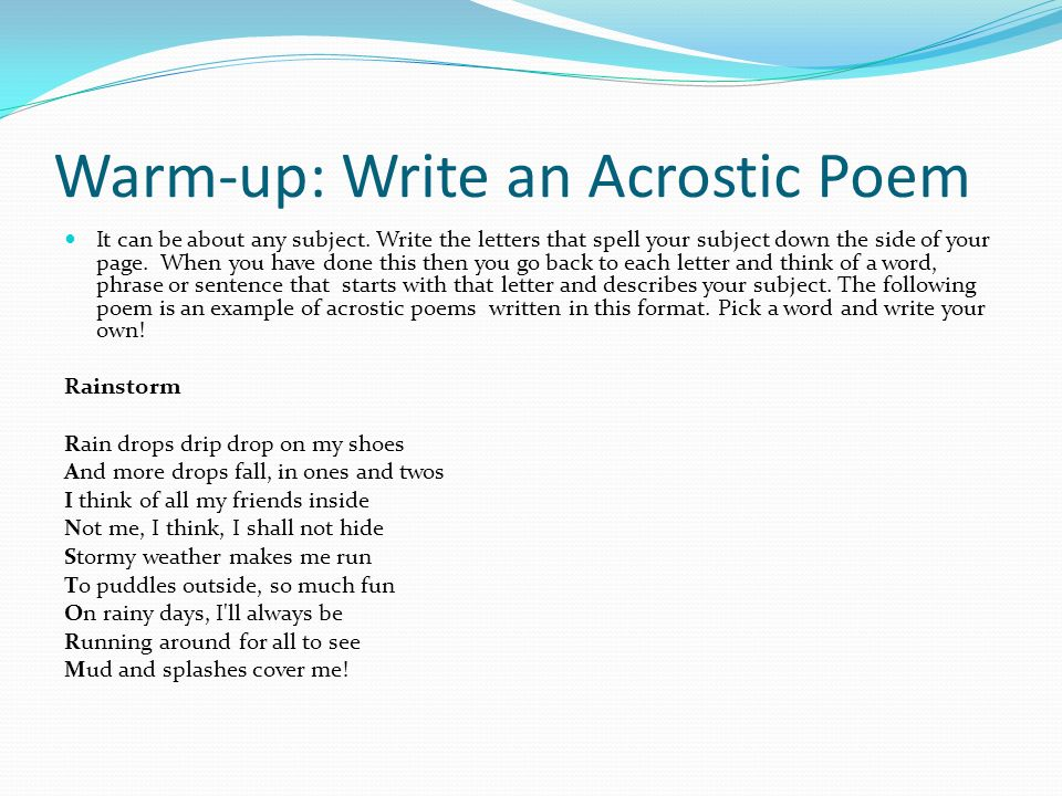 online poem writing Get paid to write poetry: 35 places to submit your poems for money  for most poets, the best way to earn money is by writing poems for literary journals .