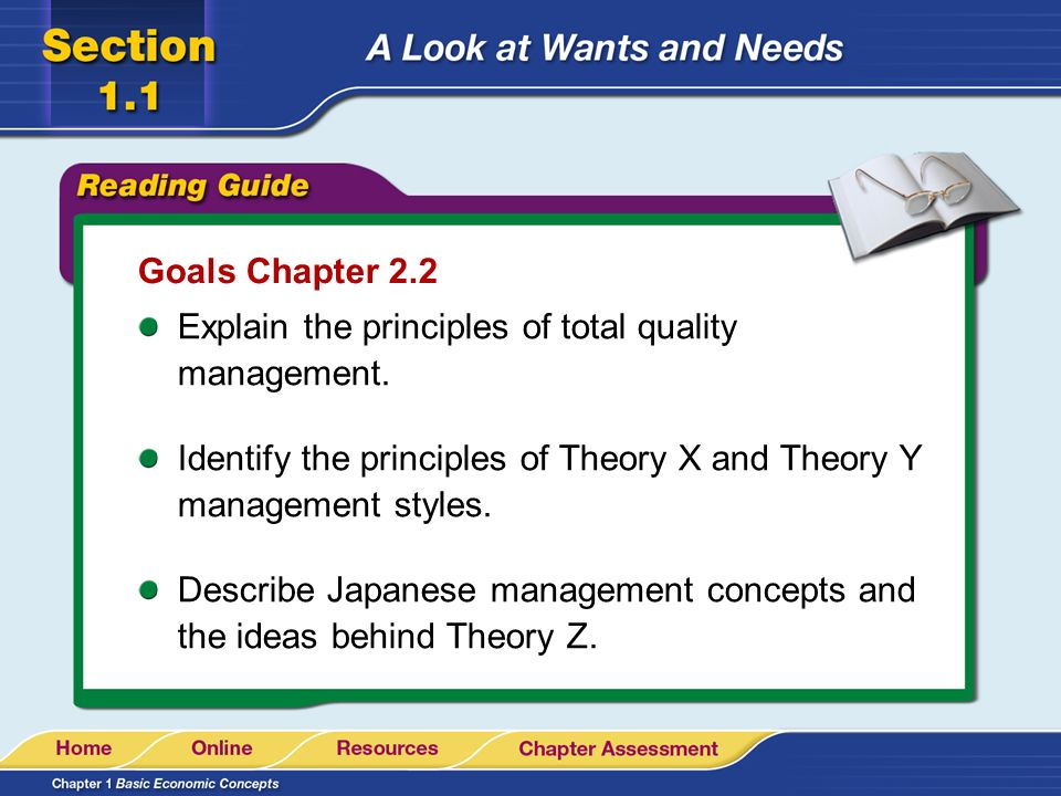 a look at concept behind total quality management Total quality management (tqm) concepts statistical quality control is the subject of this chapter look at the different types of variation that exist.