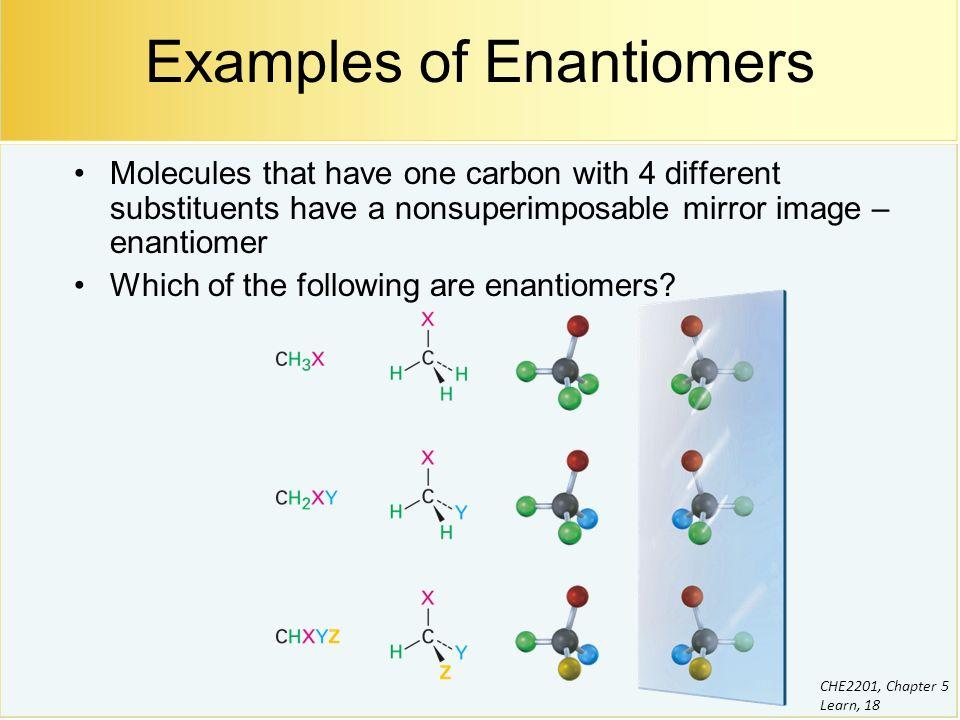 Enantiomers example