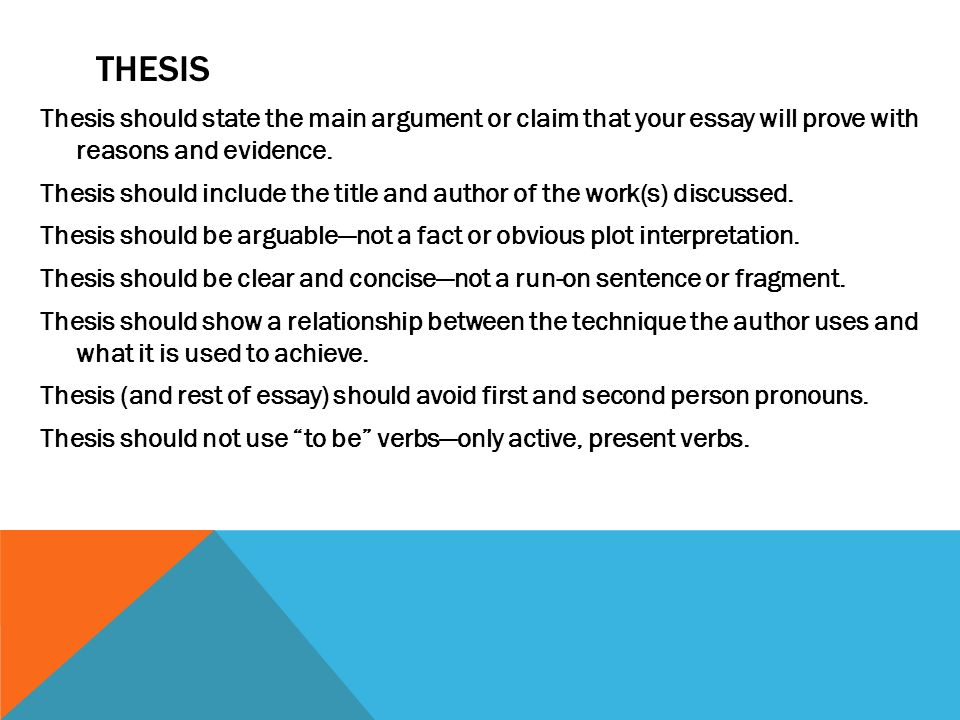 main thesis of a book A thesis statement sets the tone of an essay, so writing a thesis statement that is  clear  the essay is about and what the writer's main argument or research  findings are  a thesis for a book review will be worded differently than a thesis  for a.