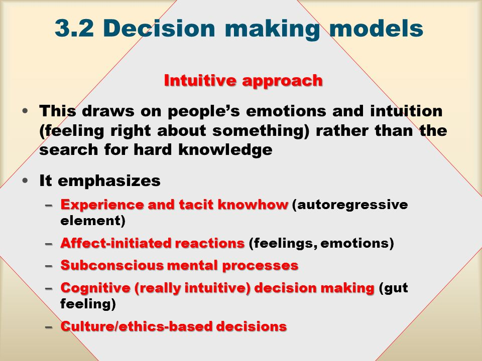 how to stop making decisions based on emotions