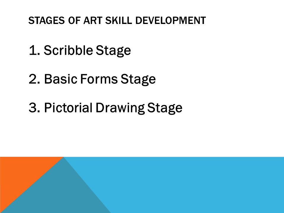 Scribble Stage Of Drawing : Guiding art blockbuilding and sensory experiences ppt