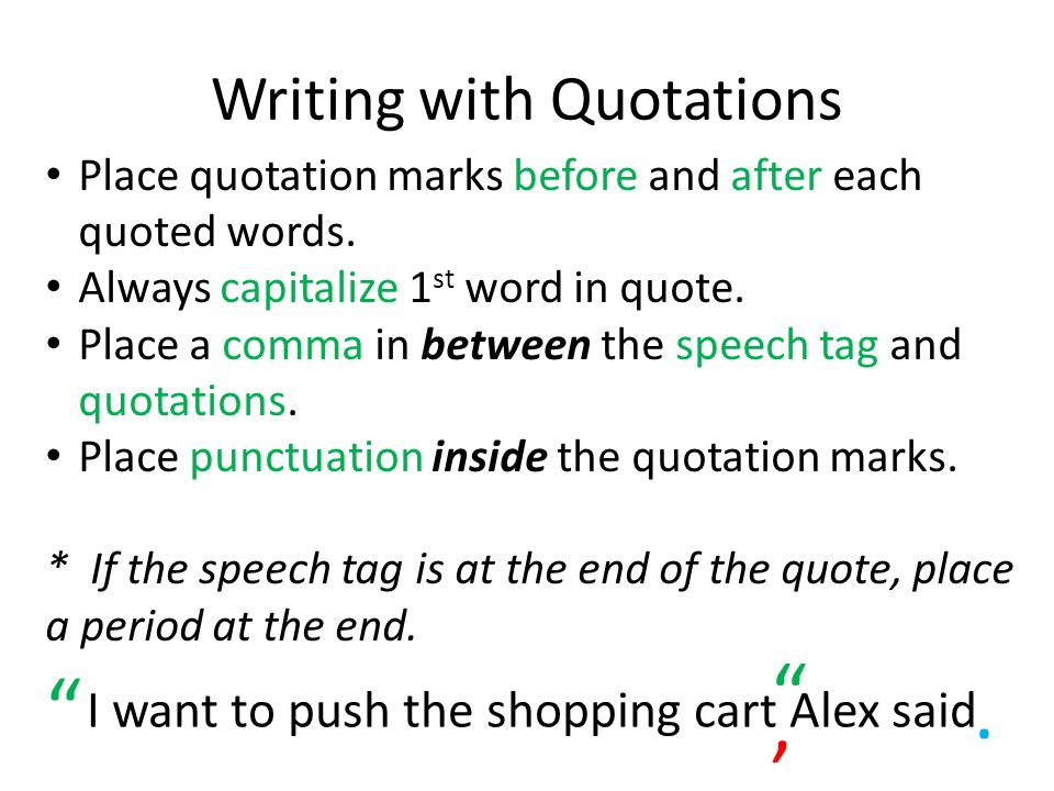quote placement in essays