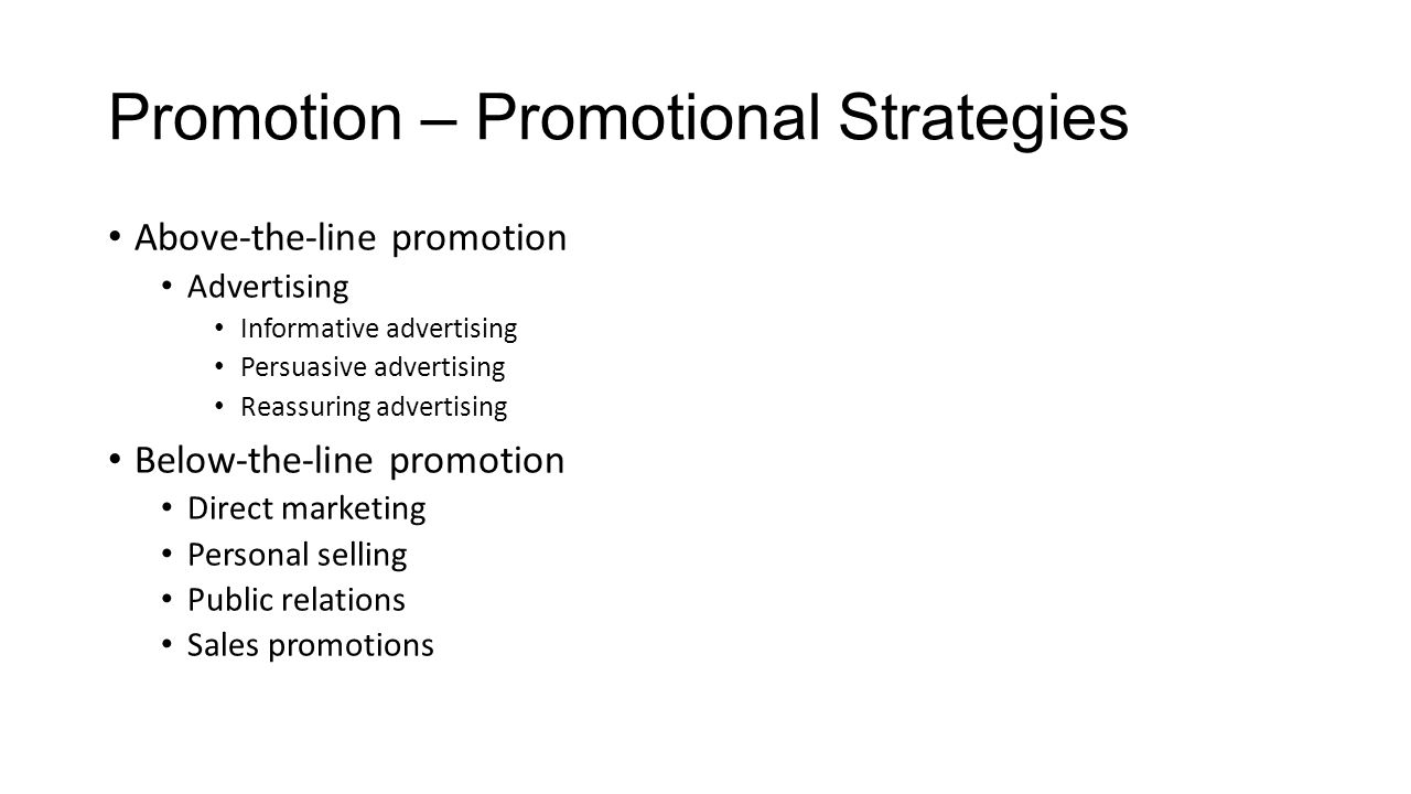 e promotional strategies Marketing ideas, sales strategies, and customer service tips for small business get strategies that work to find customers, increase sales, beat the competition.