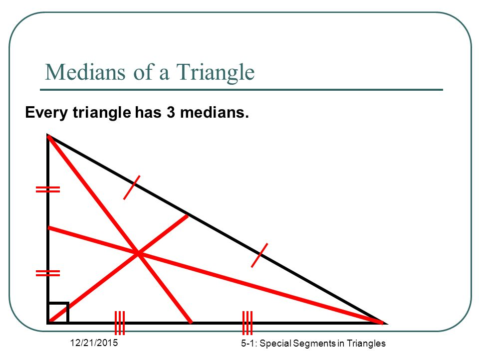 51 Special Segments in Triangles ppt download – Special Segments in Triangles Worksheet