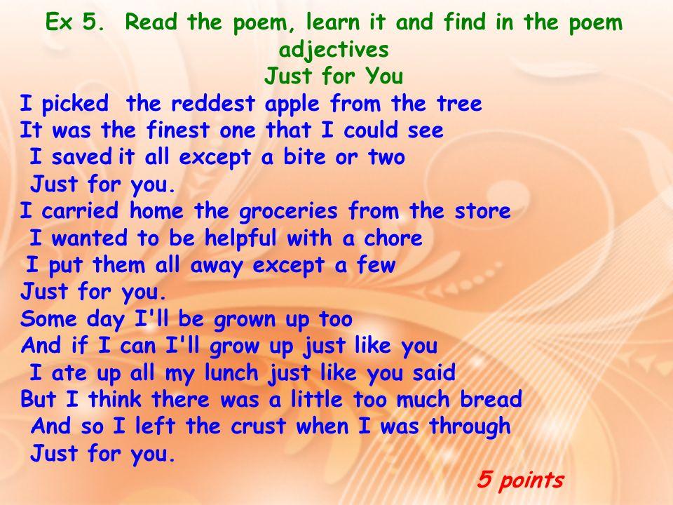 English is tough stuff! Tricky English poem read aloud ...