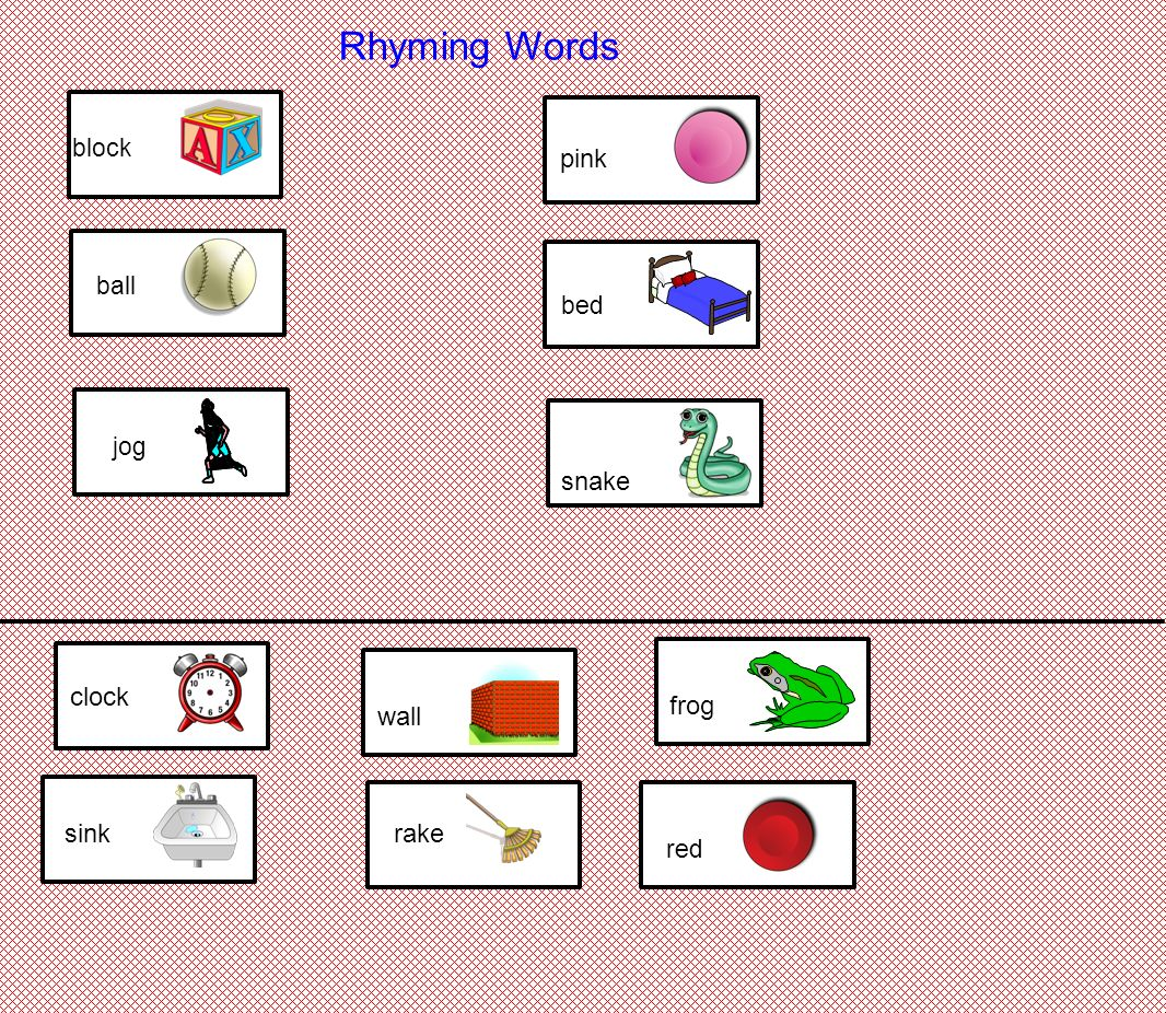 Worksheets 5 Rhyming Words rhyming words cat cop shirt fox dog car skirt top box fog bat jar 5 words