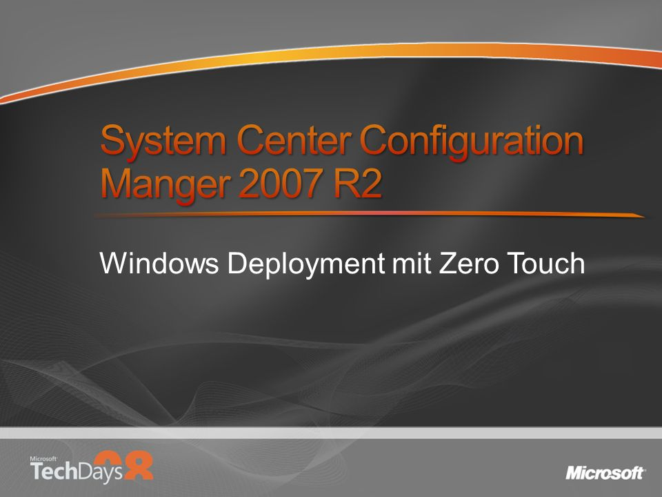 System Center Configuration Manger 2007 R2