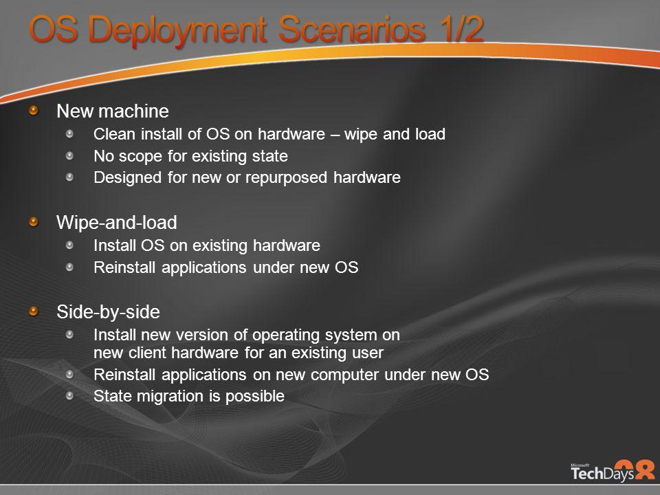 OS Deployment Scenarios 1/2