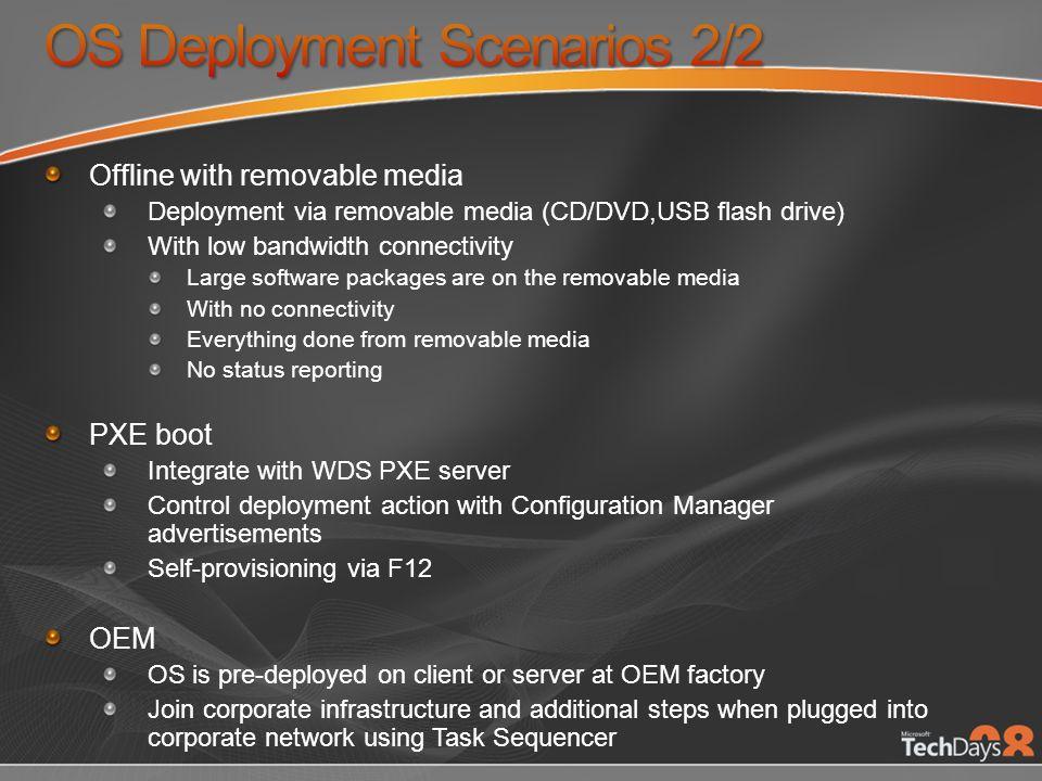 OS Deployment Scenarios 2/2