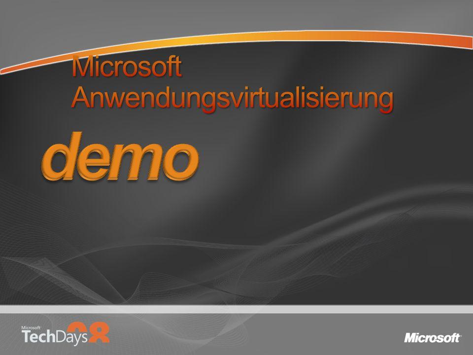 Microsoft Anwendungsvirtualisierung