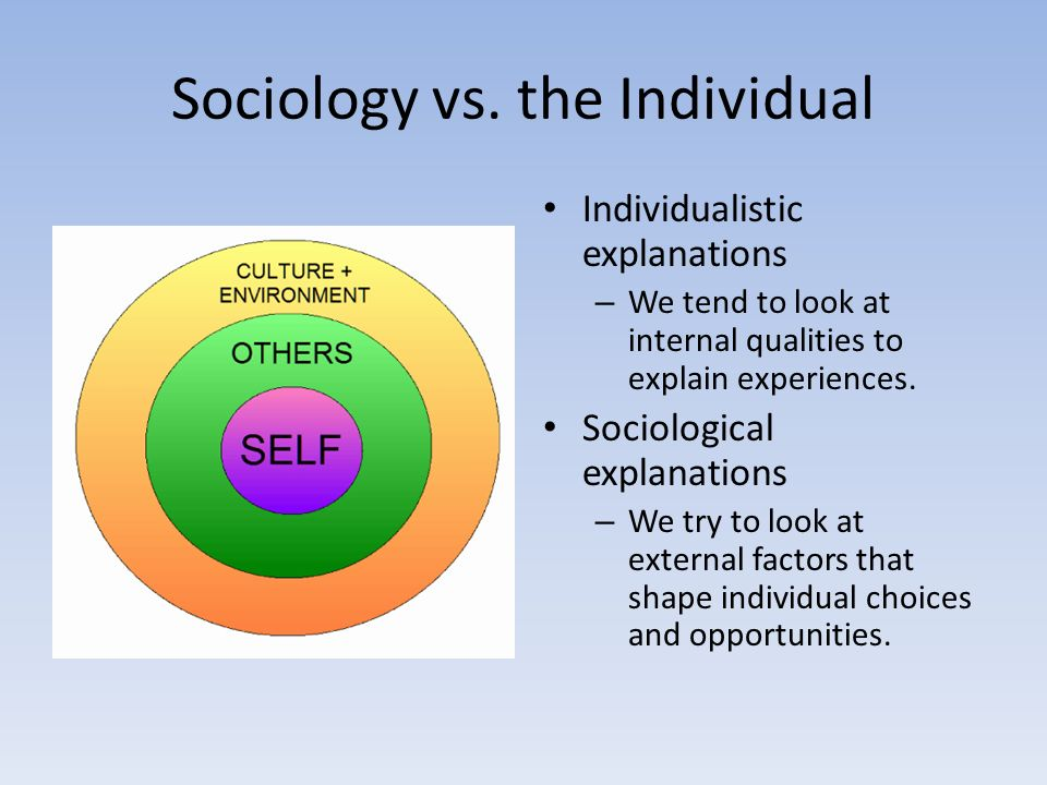 sociological viewpoint and thinking sociologically Studying part and whole: how sociologists view social structures  how do  you think taking a sociology course might affect your social interactions 2.