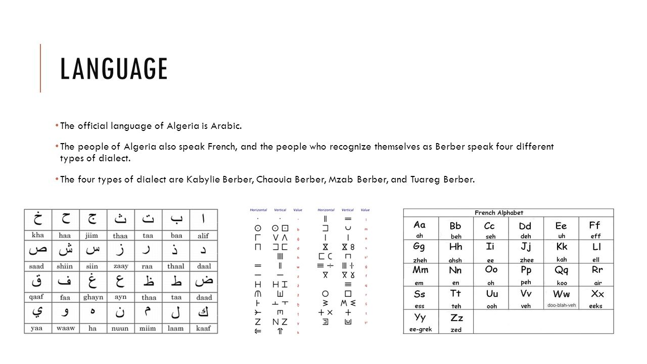Algerian Arabic - YouTube