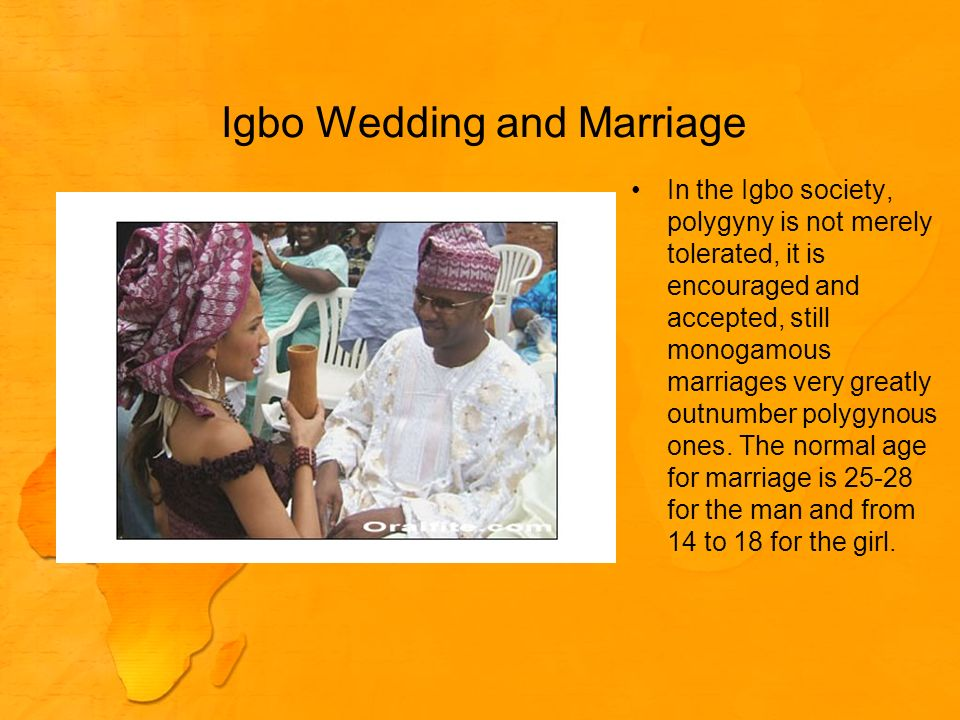 Igbo Wedding and Marriage