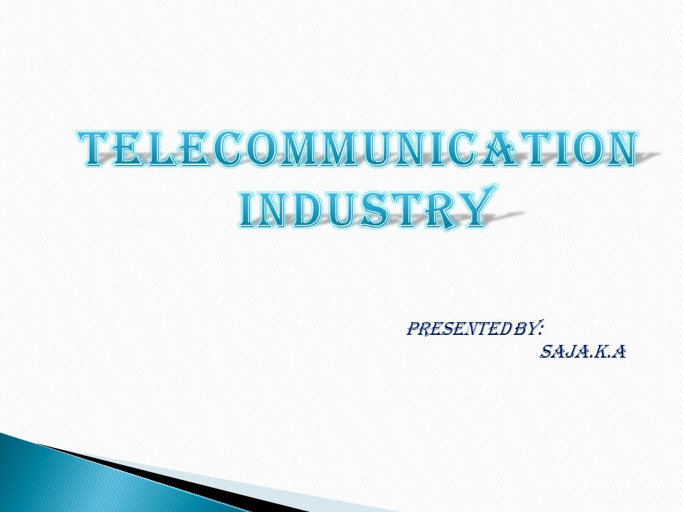 telecommunication industry - ppt video online download, Powerpoint templates
