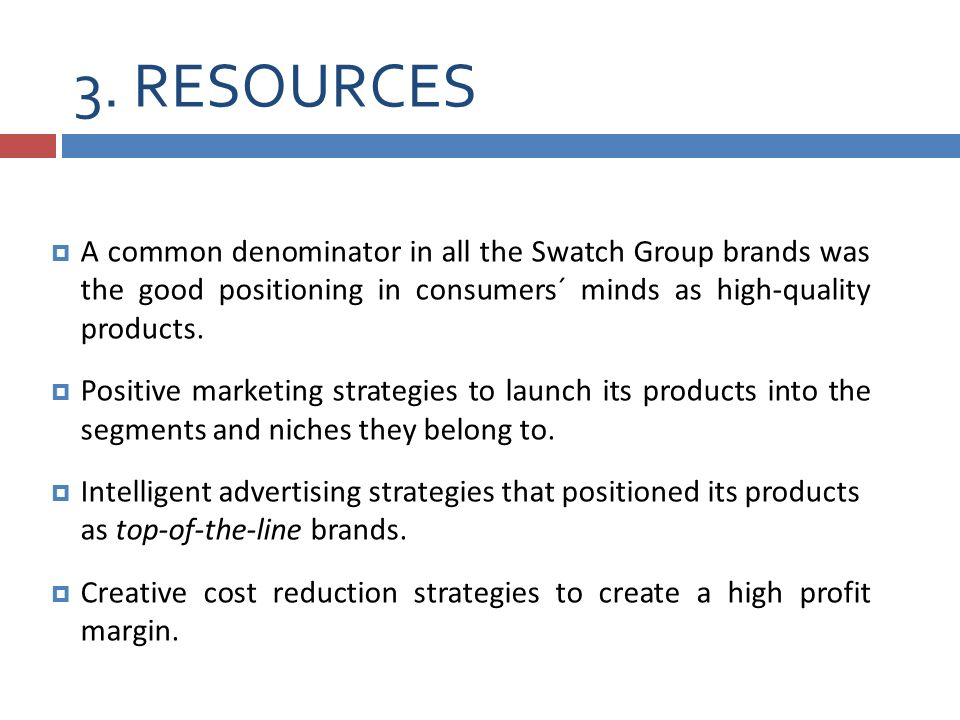 swatch group strategy Everyone knows a swatch when they see one there's clearly something that makes swatch different from every other watch brand what is it the look, the colors, the plastic the design, perhaps, or the fact that it's swiss made and versatile enough to be worn with almost anything there are swatch watches for people of.