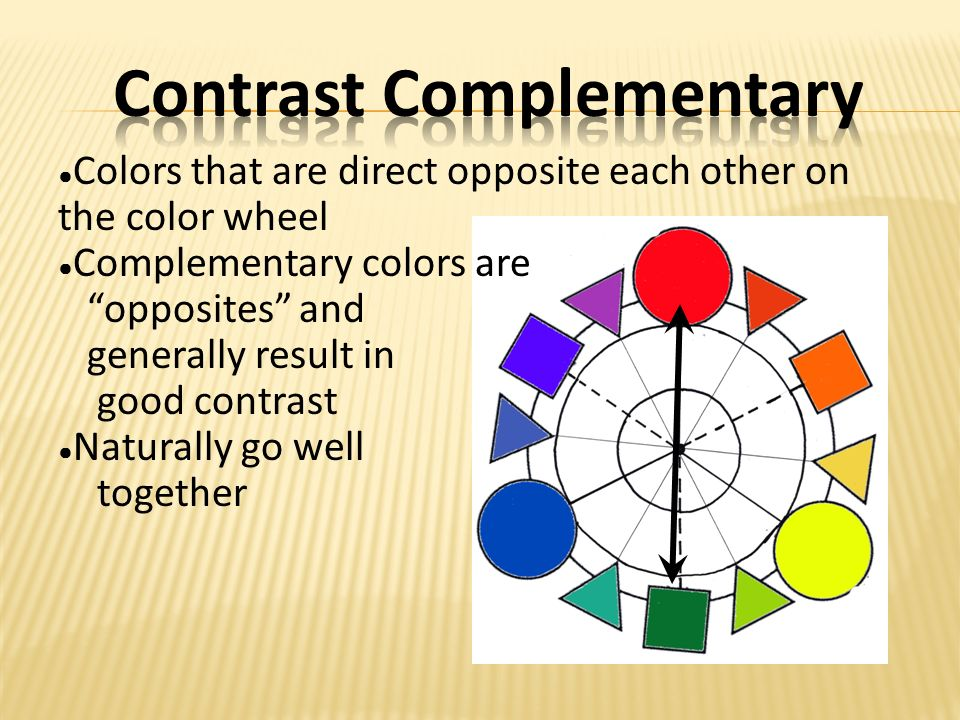 4 Split Complementary A Color And The Two Colors That Are Next To