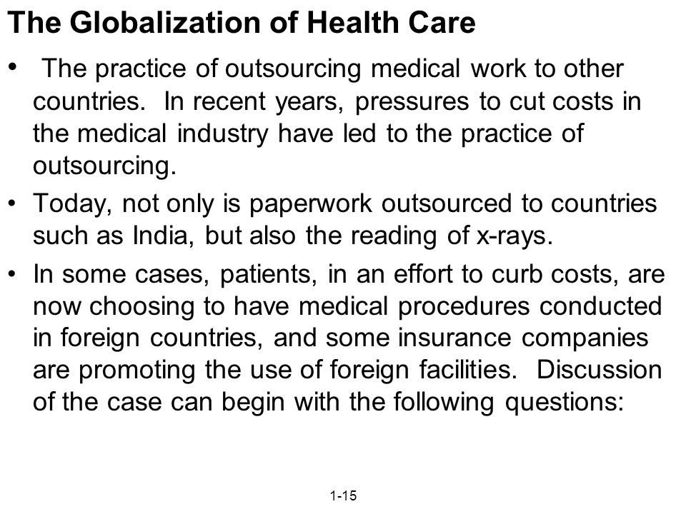 Globalization Questions and Answers