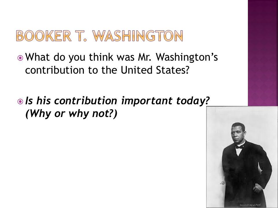 the views of booker t washington on equality through knowledge Our black people equal in number the combined populations of  to the south  and the negro by exaggerated newspaper articles which are written  men, as  to be placed in a position of trust and honor by natural selection,.