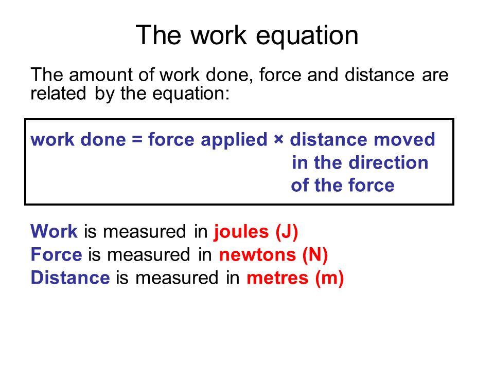 Work Equation Physics   www.imgkid.com - The Image Kid Has It!