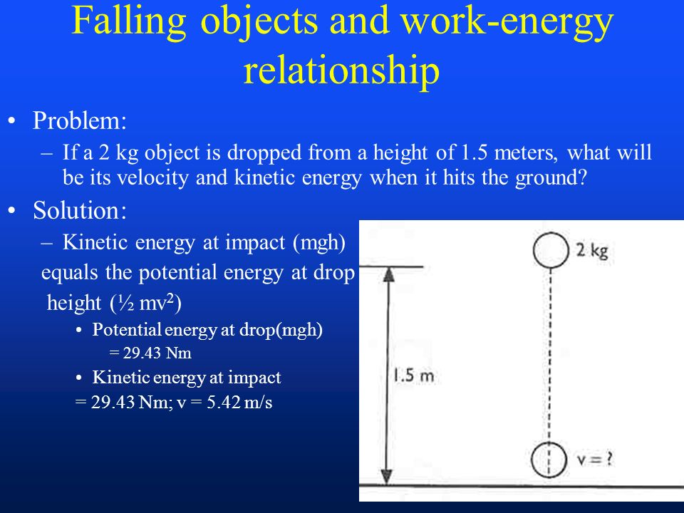 potential energy and power relationship communication