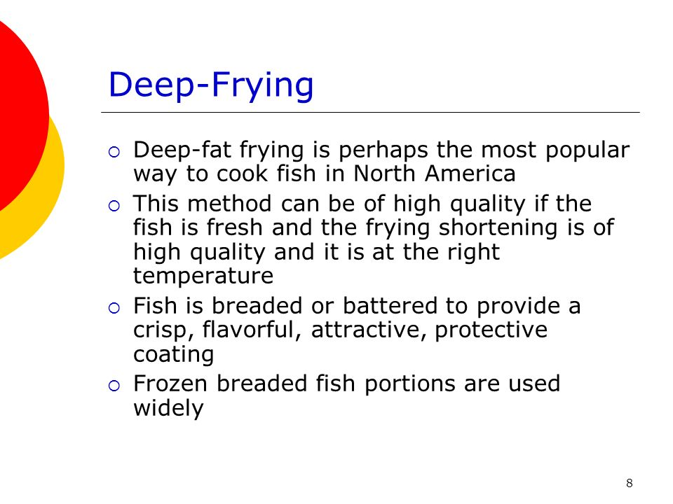 Cooking fish and shellfish ppt download for Temperature to bake fish