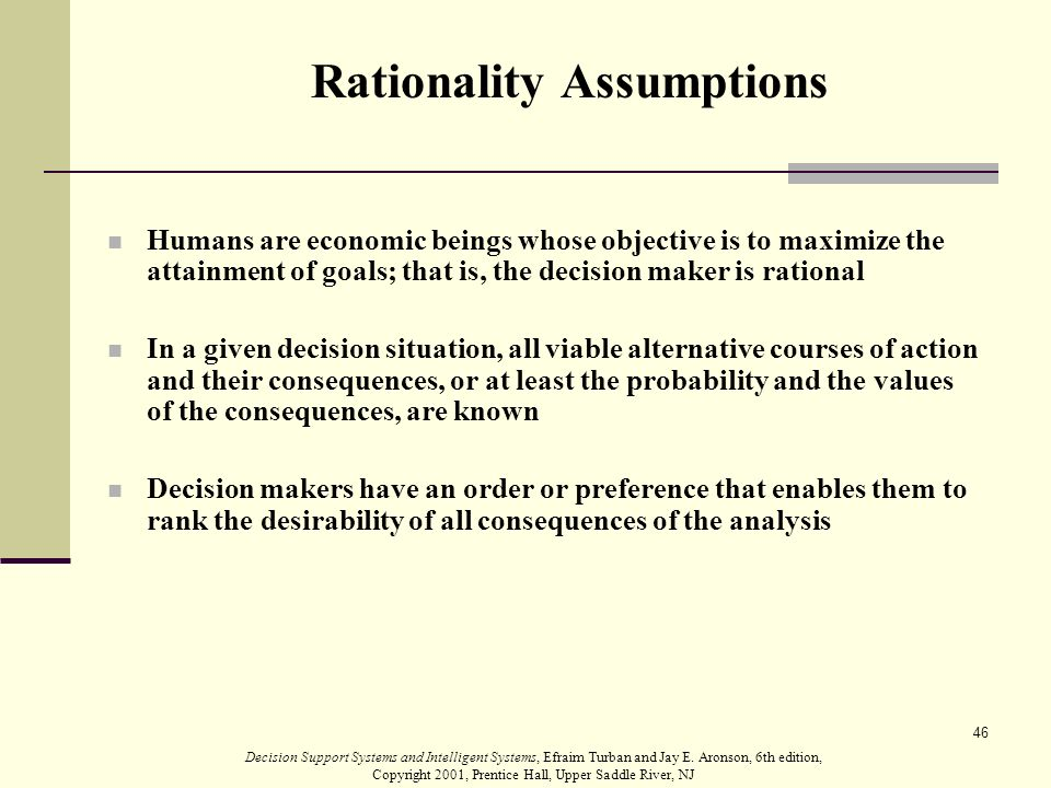 the economic rationality assumption essay The rationality of public policies as an approach shaped by the assumptions of rational and bounds to rationality: essays on economic complexity.