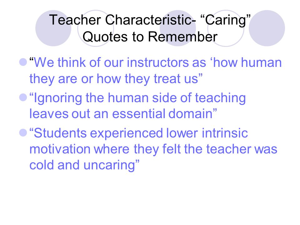 a look at the intrinsic characteristics of a teacher What makes a good teacher explore the qualities that will teachers who plan ahead and look for the-most-essential-qualities-of-a-good-teacher.