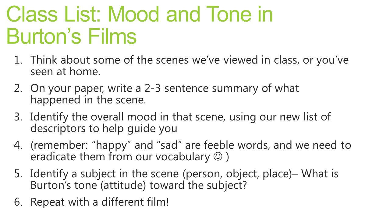 Lesson 17 MoodTone CQC Practice ppt download – Mood and Tone Worksheets