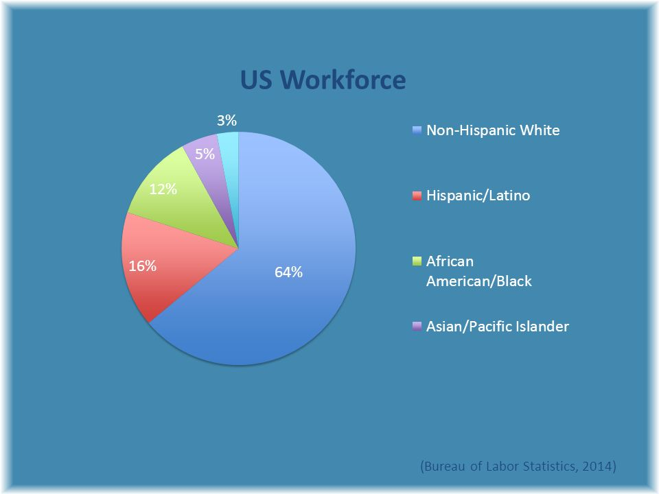 Diversity why it matters ppt video online download for Bureau of labor statistics