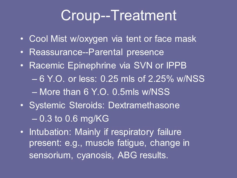 10 Croup--Treatment ...  sc 1 st  SlidePlayer & Infectious Pulmonary Diseases--An Overview - ppt video online download
